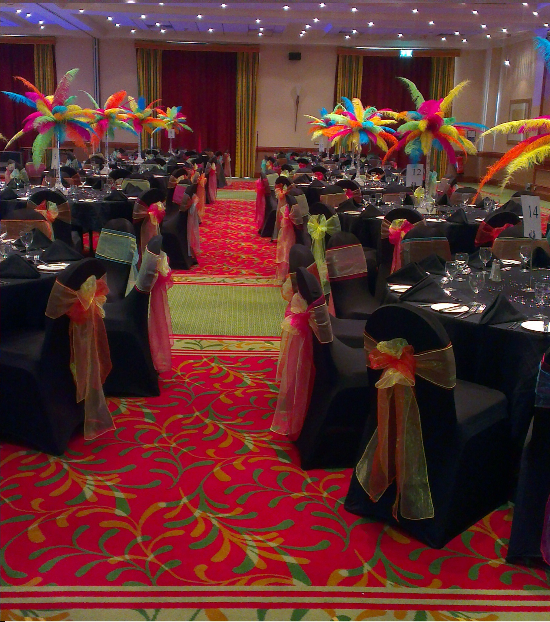 Party Venue Dressing
